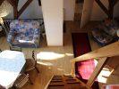 Wohnzimmer Waldblick mit Galerie